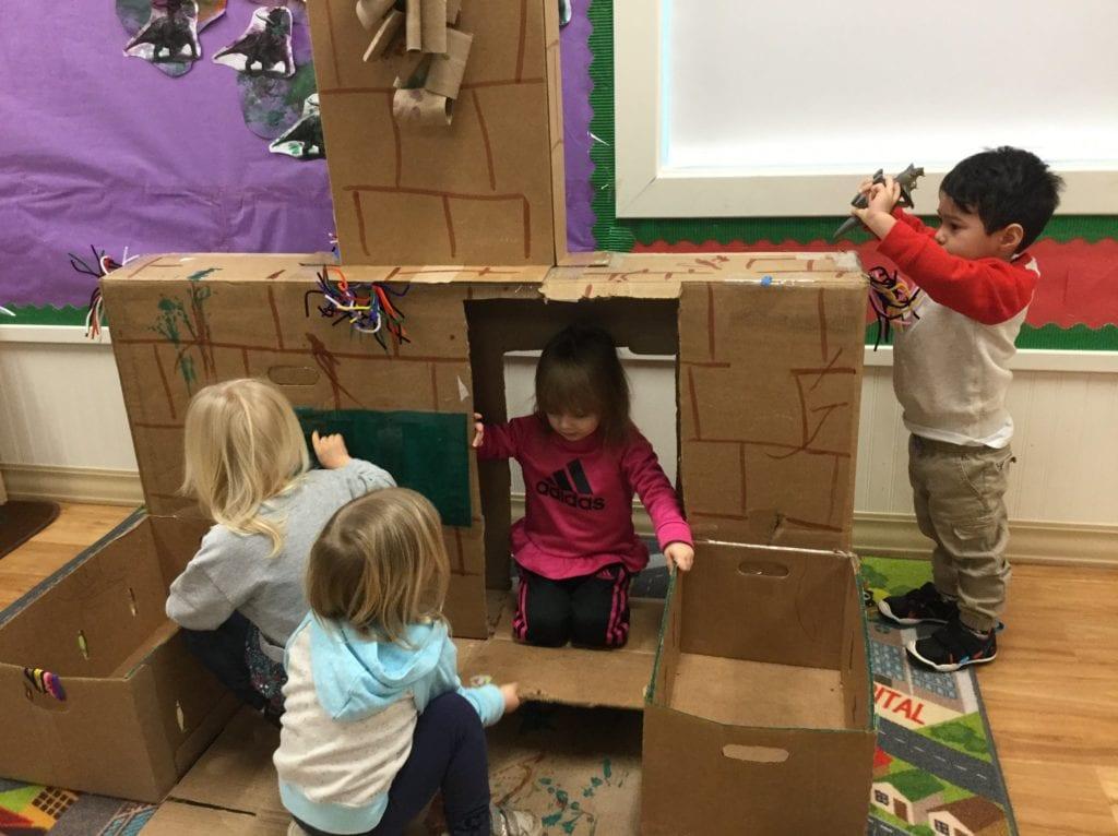 Friends in Cardboard Creation